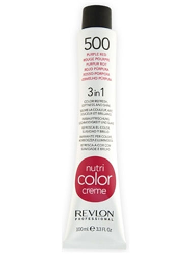 Revlon Nutri Color Creme 500 Purple Red (100ml)