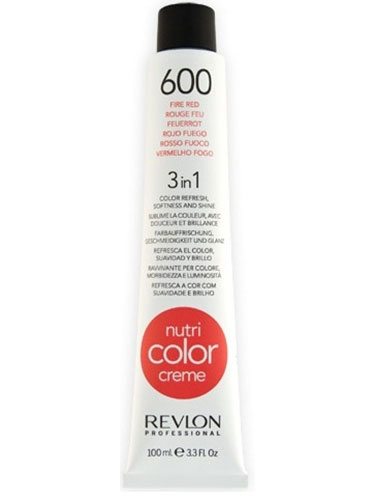 Revlon Nutri Color Creme 600 Fire Red (100ml)