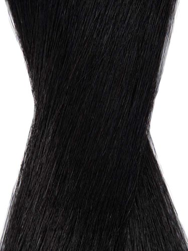 I&K Tape In Hair Extensions (20 pieces x 4cm) #1-Jet Black 18 inch
