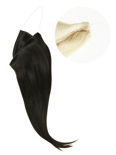 I&K Wire Quick Fit One Piece Human Hair Extensions