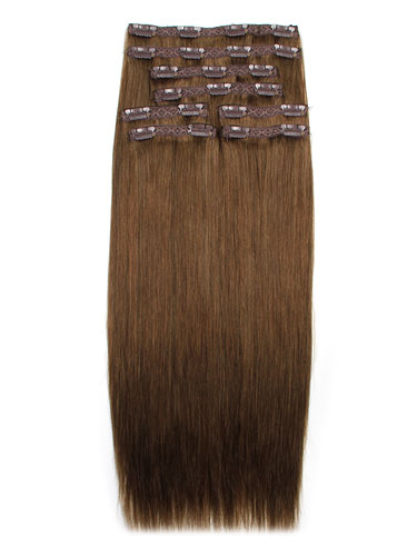 I&K Remy Clip In Hair Extensions - Full Head