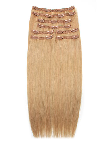 I&K Remy Clip In Hair Extensions - Full Head #10/16 18 inch