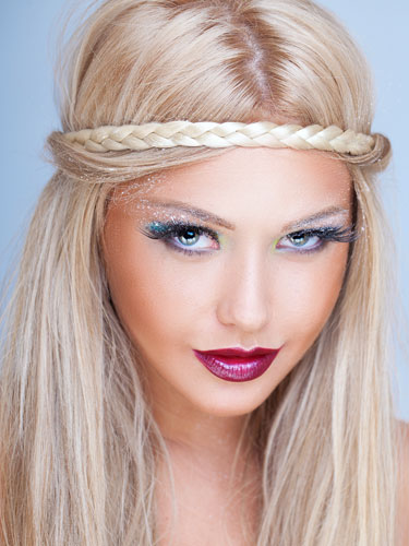 I&K Braided Hair Headband