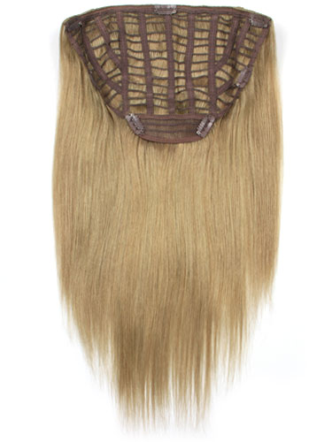 I&K Instant Clip In Hair Extensions - Full Head #18-Ash Blonde 18 inch