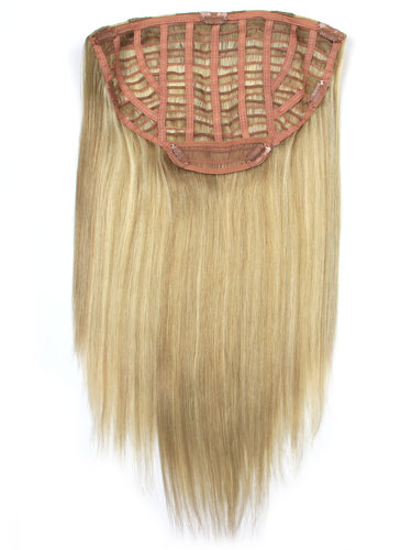 I&K Instant Clip In Hair Extensions - Full Head #18/613 18 inch