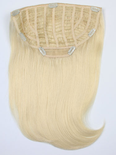 I&K Instant Clip In Synthetic Hair Extensions - Full Head #613-Lightest Blonde 18 inch