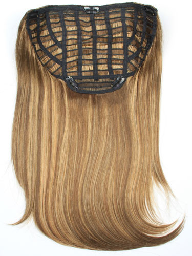 I&K Instant Clip In Synthetic Hair Extensions - Full Head #4/27 18 inch