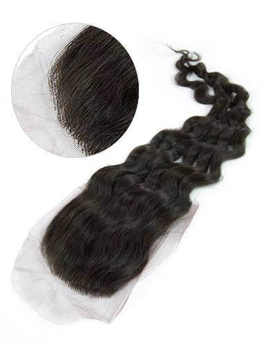 I&K Lace Top Closure Hairpiece - Deep Wave