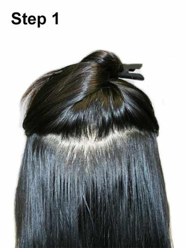 IK Micro Loop Ring Human Hair Extensions