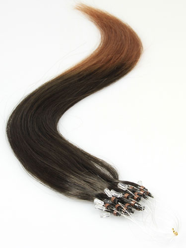 I&K Micro Loop Ring Human Hair Extensions #T2/30 18 inch