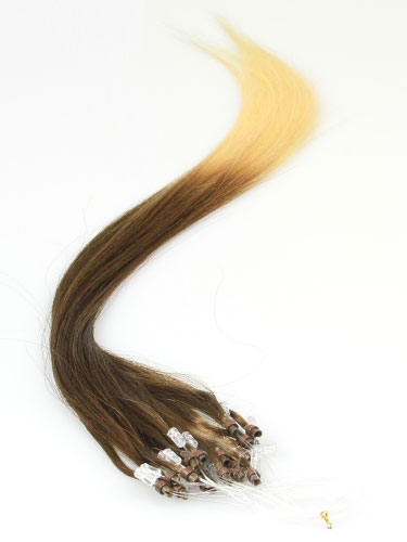I&K Micro Loop Ring Human Hair Extensions #T4/613 22 inch