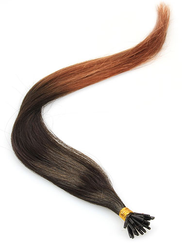 I&K Pre Bonded Stick Tip Human Hair Extensions #T2/30 18 inch