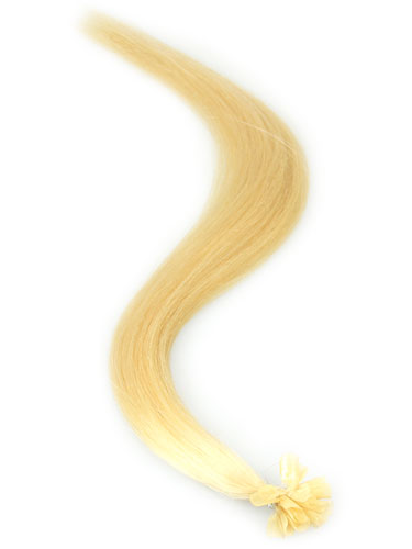 I&K Remy Pre Bonded Nail Tip Hair Extensions #24-Light Blonde 22 inch