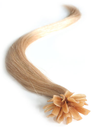 I&K Pre Bonded Nail Tip Human Hair Extensions #20-Dark Blonde 18 inch