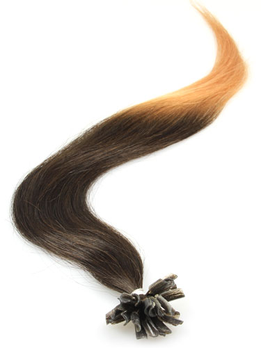 I&K Pre Bonded Nail Tip Human Hair Extensions #T2/27 18 inch