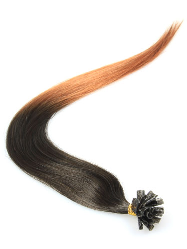 I&K Pre Bonded Nail Tip Human Hair Extensions #T2/30 18 inch