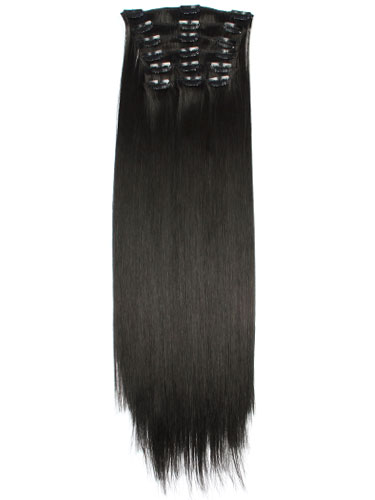 Fabulous Clip In Synthetic Hair Extensions - Full Head