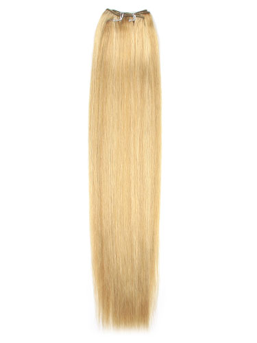 I&K Cuticle Weft Remy Hair Extensions #12/16/613 18 inch