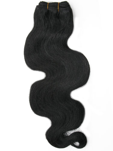 I&K Body Wave Weave Human Hair Extensions #1-Jet Black 18 inch