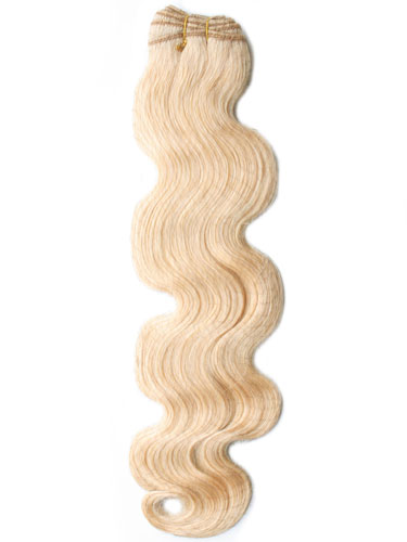 I&K Gold Weave Body Wave Human Hair Extensions #24-Light Blonde 22 inch
