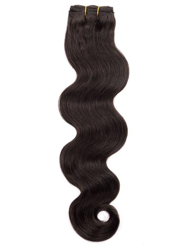 I&K Gold Weave Body Wave Human Hair Extensions #2-Darkest Brown 22 inch