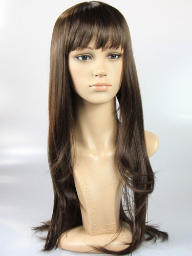 I&K Cher Wig #R6-Mid Brown
