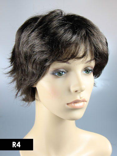 I&K Harlem Wig #R4-Midnight Brown