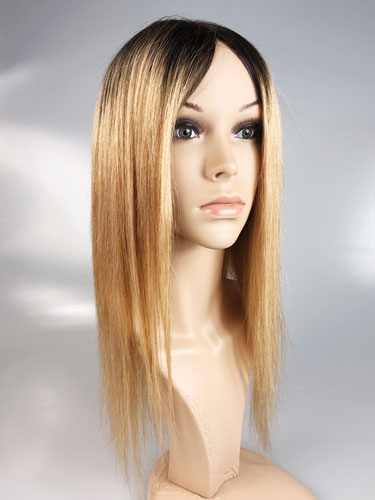 I&K Ombre Human Hair Full Head Wigs - Daisy #T1B/27