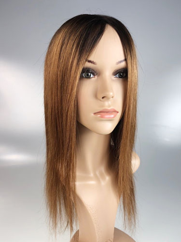 I&K Ombre Human Hair Full Head Wigs - Daisy #T1B/30