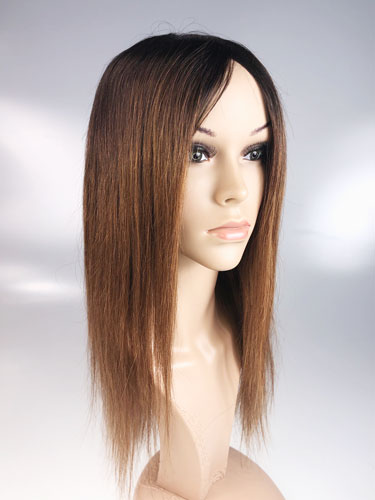 I&K Ombre Human Hair Full Head Wigs - Daisy #T1B/4/27