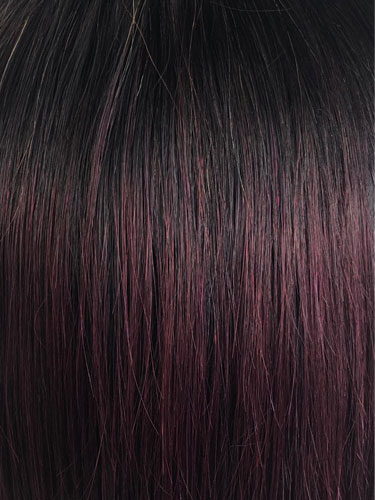 I&K Ombre Human Hair Full Head Wigs - Daisy #T1B/99J