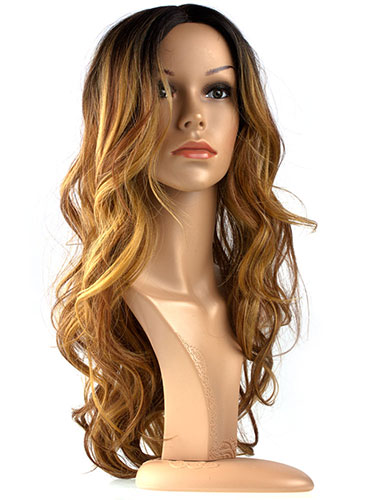 I&K Laura Ombre Beachy Waves Wig HHG-9112