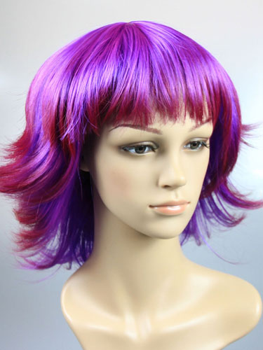 I&K Party Wig Double Colour #Double Purple