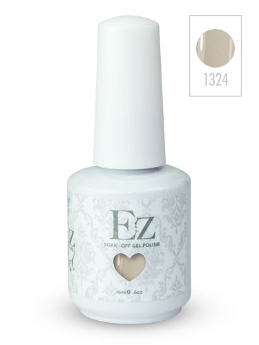 EZ Soak-Off Gel Nail Polish (15ml) #Simper Sheer