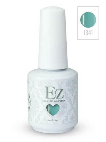 EZ Soak-Off Gel Nail Polish (15ml) #Sea Foam