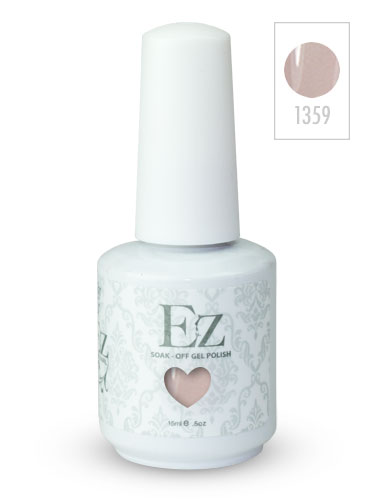 EZ Soak-Off Gel Nail Polish (15ml) #Taffeta