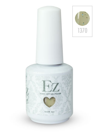 EZ Soak-Off Gel Nail Polish (15ml) #Silver Sand