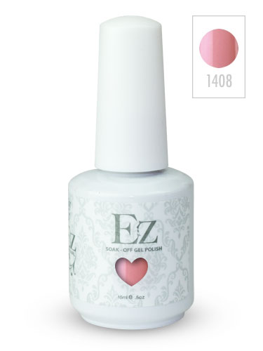 EZ Soak-Off Gel Nail Polish (15ml) #Pink Smoothie