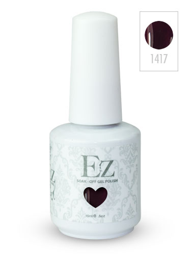 EZ Soak-Off Gel Nail Polish (15ml) #Plum and Done