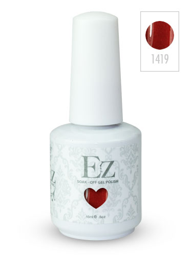 EZ Soak-Off Gel Nail Polish (15ml) #Queen of Hearts