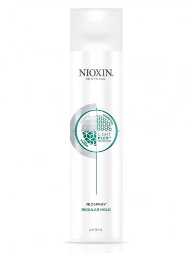 Nioxin 3D Styling Niospray Regular Hold Hairspray (400ml)