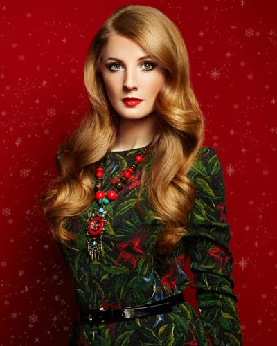 Christmas - Clip In Hair Extensions