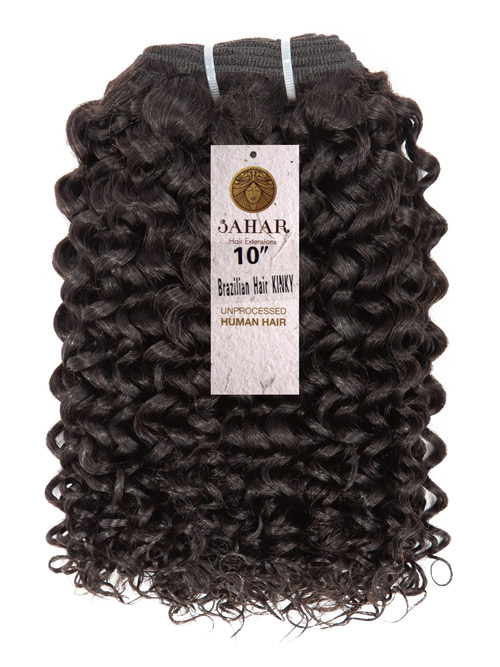 Sahar Unprocessed Brazilian Virgin Weft Hair Extensions 100g (10A) - Kinky