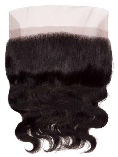 Sahar Unprocessed Brazilian Virgin Weft Hair Extensions Bundle (10A) - #Natural Black Body Wave