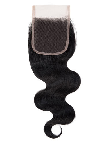 "Sahar Slay Human Hair Top Lace Closure 4"" x 4"" (6A) - Body Wave"