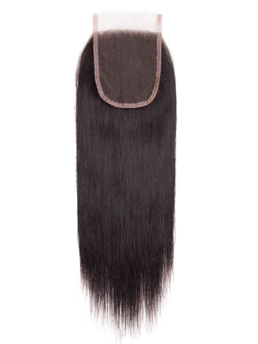 "Sahar Slay Human Hair Top Lace Closure 4"" x 4"" (6A) - Straight"