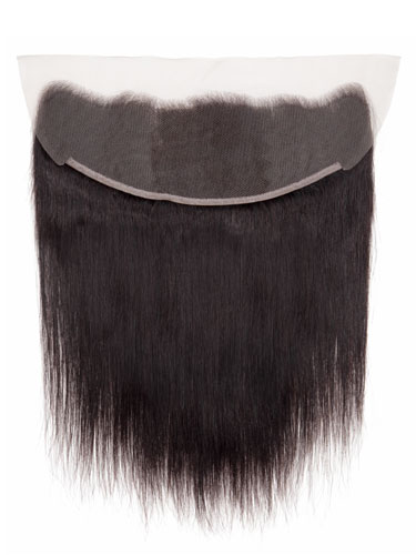 "Sahar Slay Human Hair Front Lace Closure 4"" x 13"" (6A) - Straight"