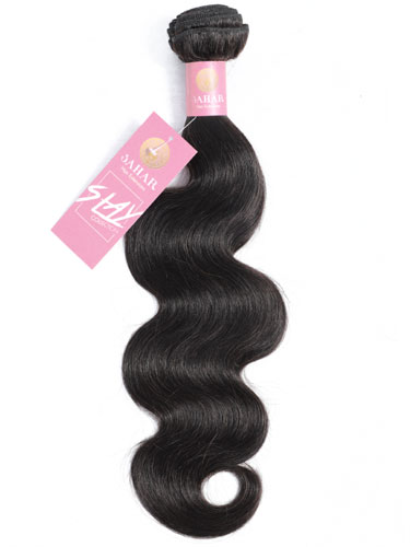 Sahar Slay Unprocessed Brazilian Virgin Weft Hair Extensions 100g - Body Wave