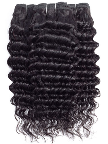 Sahar Slay Human Hair Extensions Bundle - Deep Wave