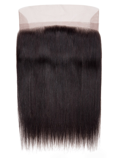 "Sahar Unprocessed Brazilian Virgin Hair Front Lace Closure 4"" x 13"" - Straight"